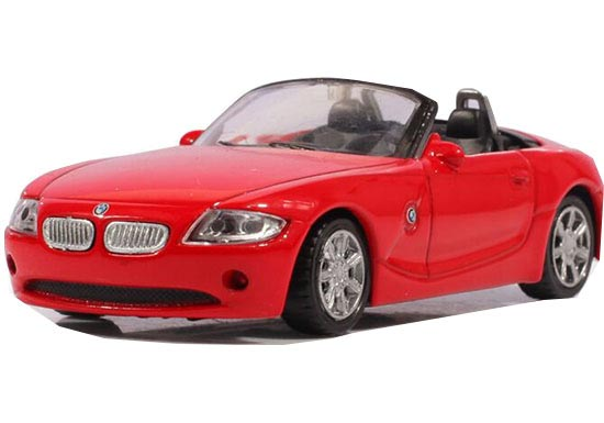 1:43 Scale Red / Gray Kids Diecast BMW Z4 Car Toy