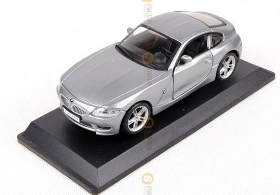 1:32 Scale Silver Diecast Bburago BMW Z4 Toy Car Toy