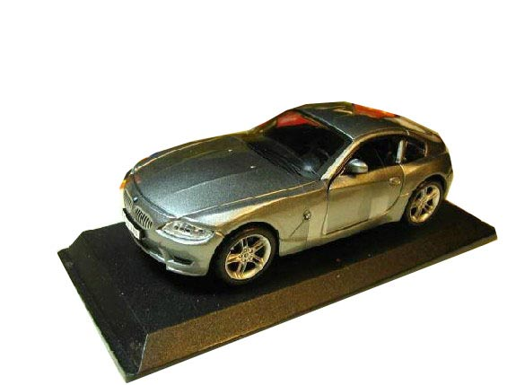 1:32 Scale Diecast Black Bburago BMW Z4 M Coupe Toy Car Model