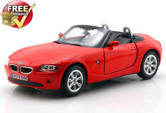 1:32 Scale Red /Black / White / Brown Diecast BMW Z4 Toy Car Toy
