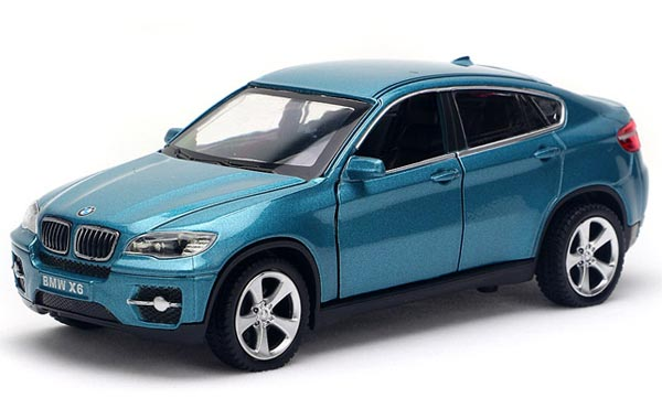 Blue / Black / Wine Red 1:32 Scale Diecast BMW X6 Car Toy