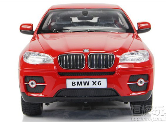 1:14 Large Scale White / Red / Black Chargeable R/C BMW X6 Car
