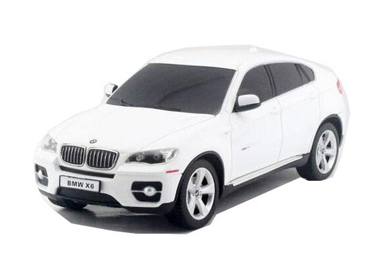 1:24 Scale Kids Red / Black / White R/C BMW X6 Car Toy