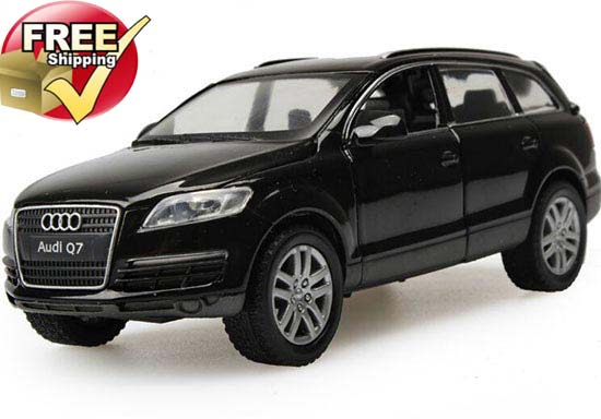 1:32 Scale Kids Red / Black / White Diecast Audi Q7 4.2FSI Car