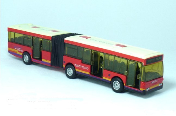 Kids Red Blue Yellow Articulated City Bus Toy Bs11t0017 Vktoybuy Com