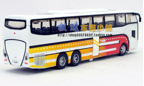 Red / Blue / White / Green Kids Provincial Tour Bus Toy