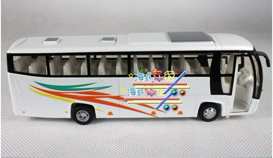Kids Red / Blue / Yellow / White / Green Tour Bus Toy