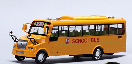 1 50 Scale Yellow Kids Big Nose School Bus Toy Bs11t0050 Vktoybuy Com