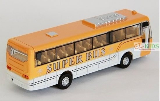 Kids Red / Blue / Yellow Super Tour Bus Toy
