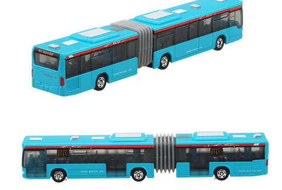Kids Blue TOMY Die-cast Articulated Mercedes-Benz City Bus Toy