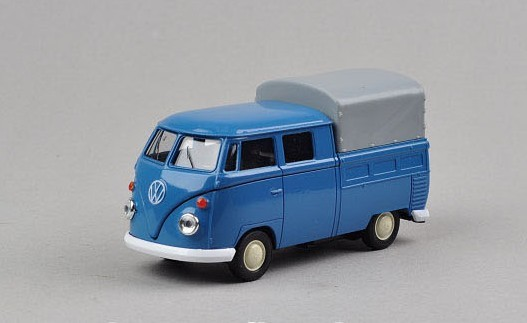 Kids 1:36 Scale Welly Die-Cast 1962 VW Truck Toy