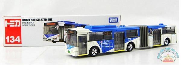 Kids Tomy No 134 Die Cast Mercedes Benz Articulated Bus