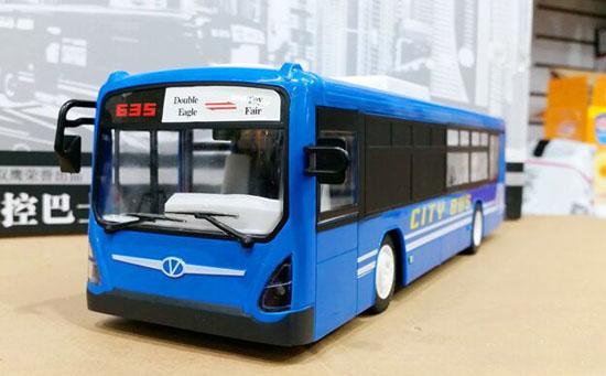 Opening Doors Blue Full Functions Plastics R/C City Bus Toy & Opening Doors Blue Full Functions Plastics R/C City Bus Toy ...