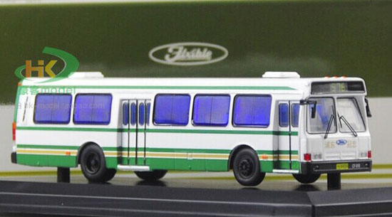 White 1:76 Scale NO.576 Die-Cast FLXIBLE City Bus Model