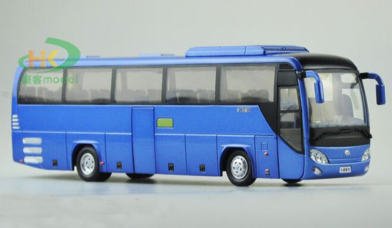 Blue / Purple 1:42 Scale Die-Cast YuTong ZK6210 Coach Model