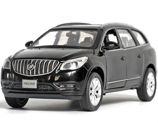 1:32 Black / White / Wine Red / Brown Die-cast Buick Enclave