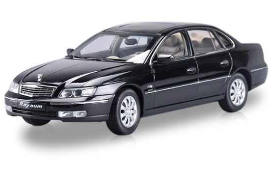 1:18 Scale Black / Silver Die-cast Buick Royaum Model