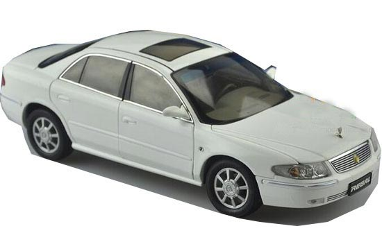 1:18 Scale White Die-cast Buick Regal Model