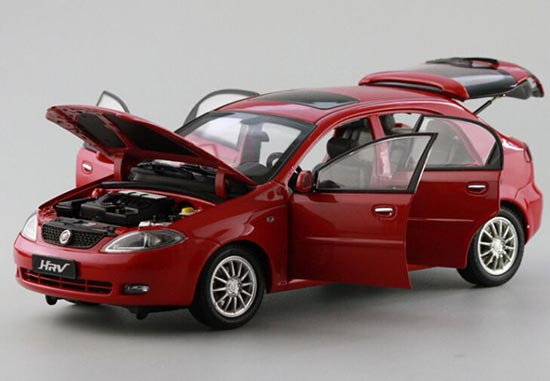 1:18 Scale Red Die-cast Buick HRV Model