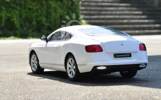 Kids 1:16 Scale Black / Red / White R/C Bentley Continental GT