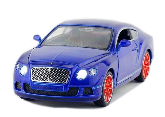 1:32 Scale Kids Orange / Green / Blue Bentley Continental GT Car