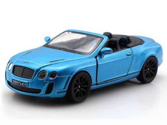 Kids 1:38 Scale White /Blue /Orange /Red Bentley Continental GT