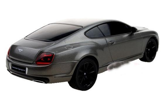 Welly 1:24 Scale Kids White / Black R/C Bentley Continental