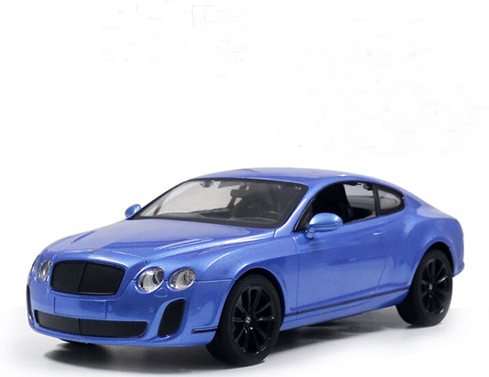 1:14 Scale White /Black /Blue R/C Bentley Continental Supersport