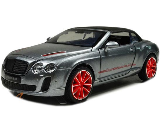 White /Blue /Gray /Black Bentley Continental Supersports ISR Toy