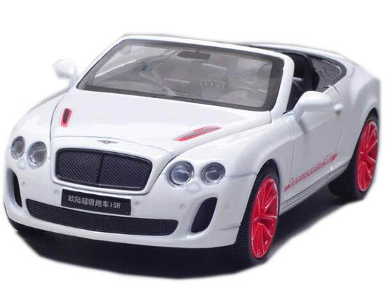 Cabrio Gray /Black /White / Blue Bentley Continental Supersports