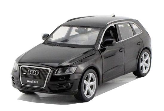 Kids Black / White / Blue 1:32 Scale Diecast Audi Q5 Toy