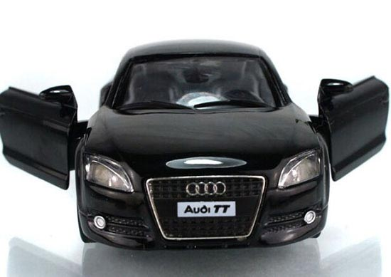 1:32 Scale Black / White / Blue / Red Diecast Audi TT 2008