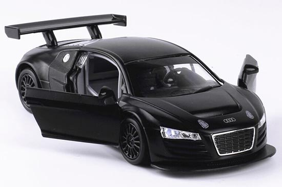 Black / White / Red 1:32 Scale Diecast Audi R8 LMS Toy