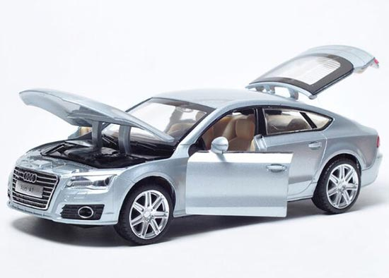 1:32 Scale Kids Red / Silver / Deep Blue Diecast Audi A7 Toy