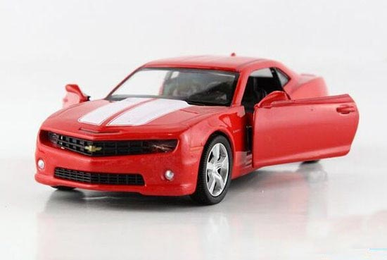 Black / Red / Yellow 1:36 Scale Kids Diecast Chevrolet Camaro