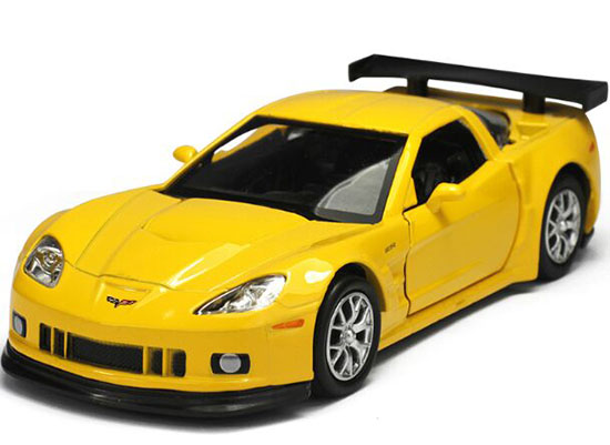 Yellow /White /Black /Red Kids Diecast Chevrolet CORVETTE C6-R