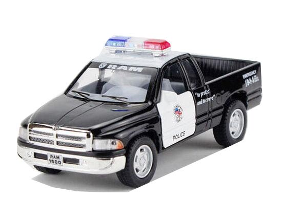 Black Kids Diecast Dodge RAM Pickup Truck Toy