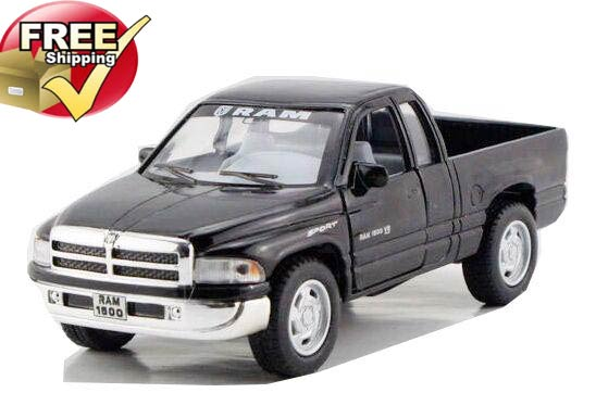 Black / Silver / Red / Green Dodge RAM Pickup Truck Toy