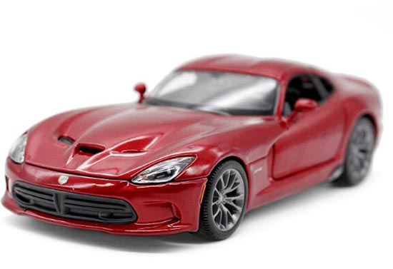 Red / Black 1:24 Scale MaiSto Diecast Dodge SRT Viper GTS Model