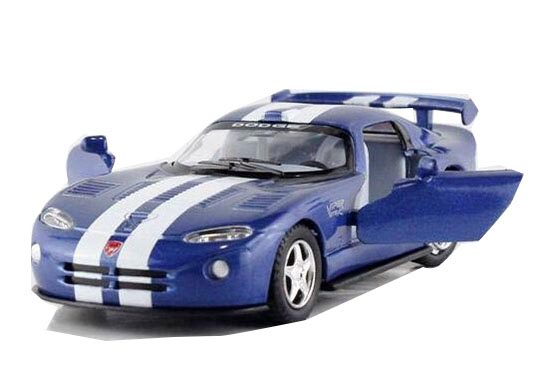 Black / Red / Blue / White Kids Diecast Dodge Viper GTS-R Toy