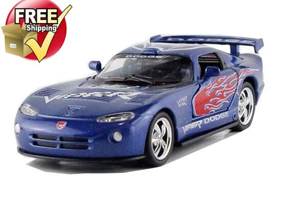 1:36 Black / Red / Blue / White Dodge Viper GTS-R Toy