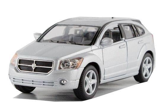 1:34 Scale Silver / Red / Blue /Black Diecast Dodge Caliber Toy
