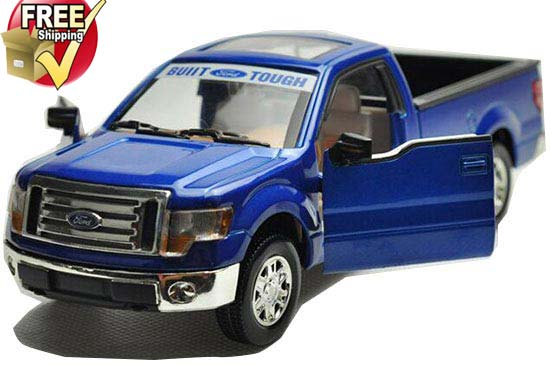 Kids 1:32 Scale Red / Blue / White Diecast Ford Pickup F150 Toy