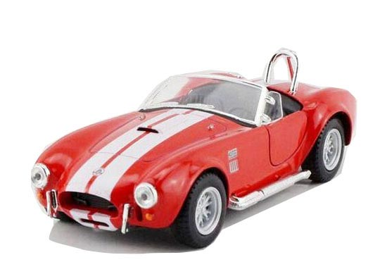 White / Yellow / Blue / Red Diecast 1965 FORD SHELBY COBRA