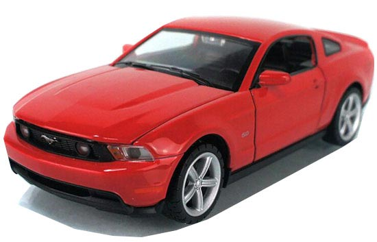 Red / Yellow / Blue / White Kids Diecast 2012 Ford Mustang Toy