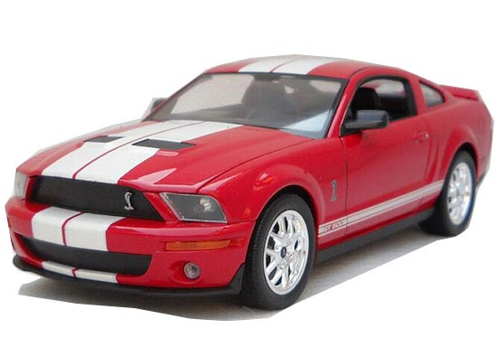 1:24 Scale Welly Diecast 2007 Ford Shelby Cobra GT500 Model