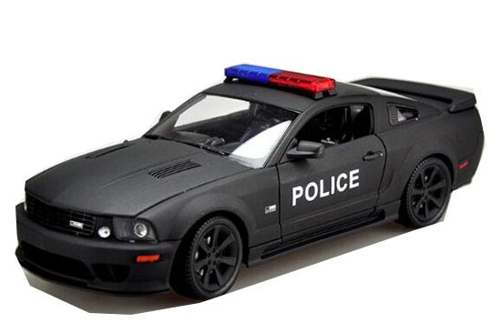 Black 1:18 Scale Welly Diecast Ford Mustang S281E Model