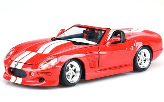 Red / White 1:18 Scale MaiSto Diecast Ford SHELBY SERIES Model