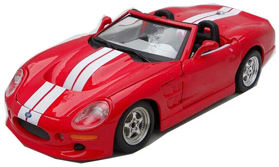 1:24 Scale Red MaiSto Diecast 1999 Ford SHELBY SERIES Model