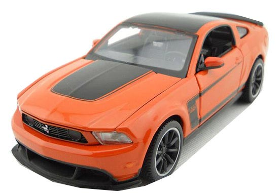 1:24 Scale Orange MaiSto Diecast 2013 Ford SRT Viper GTS Model